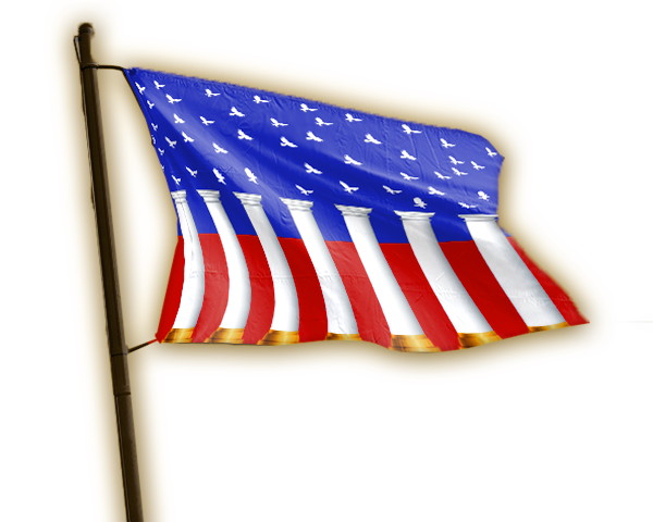 Redeemed NATIONS Flags Collection USA BANNER